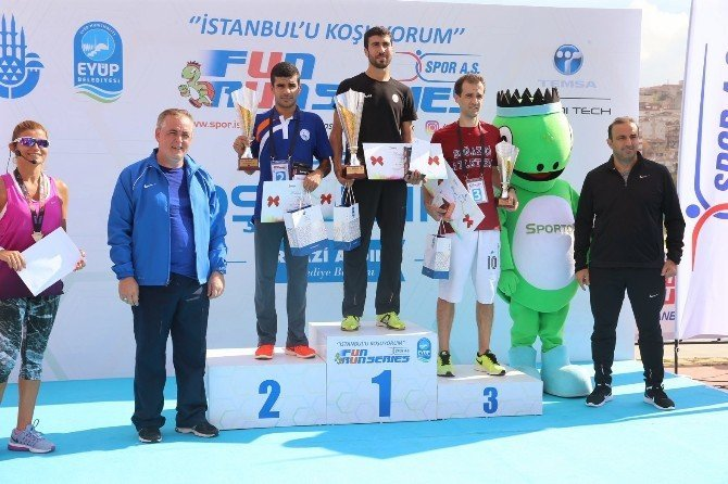 Fun Run Series'in 4. Etabı Eyüp'te Koşuldu